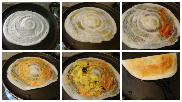 Method Of Masala Dosa